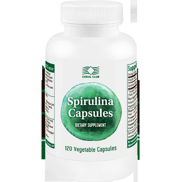 Nopirkt Spirulina Capsules