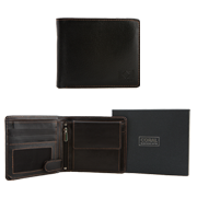 Men's leather wallet purse
