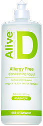 Alive D Alllegy Free dishwashing liquid