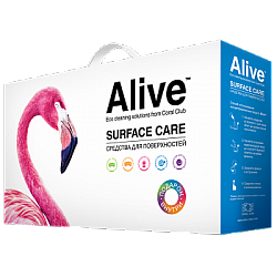 Alive Assorted household cleaning products