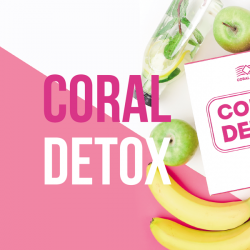 """Coral Detox"" Brochure in Latvian"